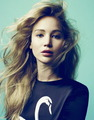 "New ""Elle"" outtakes by Daniel King. - jennifer-lawrence photo"