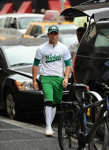 Nick Jonas July 16th going to Wickets Game - nick-jonas Photo