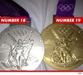 Number 18 and Number 19 Medals! - michael-phelps photo