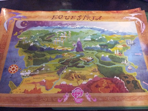 OFFICIAL Map of Equestria - my-little-pony-friendship-is-magic Photo