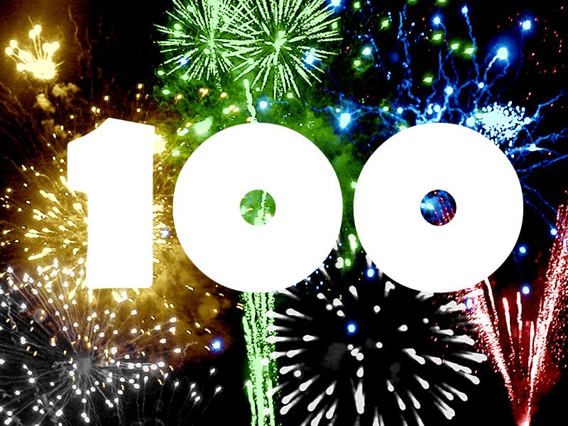 OUR 100TH FAN!!!