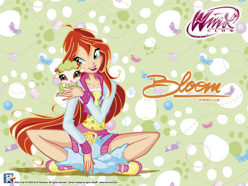 Official wallpaper 2012 Bloom Love &amp; Pets - the-winx-club Wallpaper