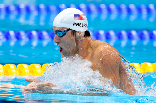 Olympics jour 1 - Swimming