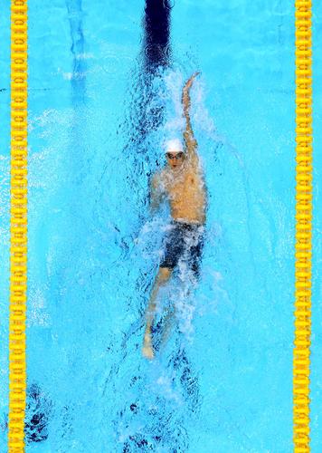 Olympics hari 1 - Swimming
