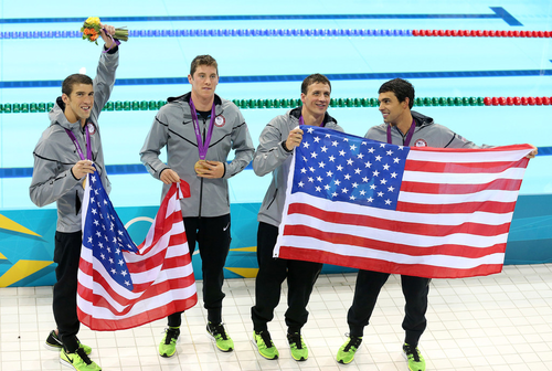 Olympics dag 4 - Swimming
