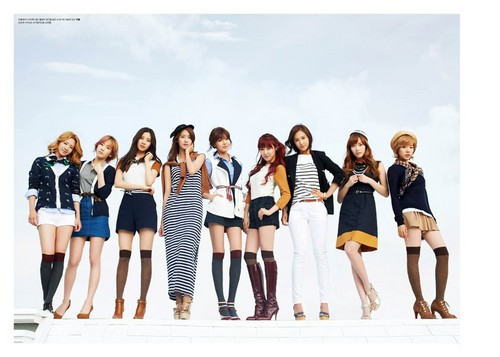 Olympics Girls High cut magazine - girls-generation-snsd Photo