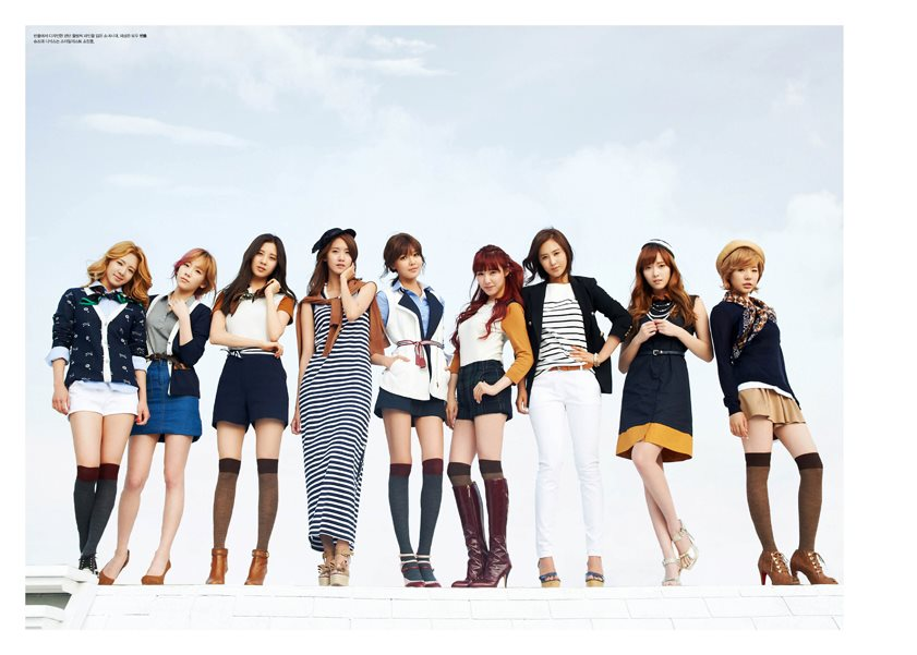 Olympics Girls High cut magazine