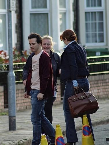 On Set: Sherlock Series 2