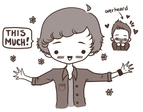 One Direction Cartoon♥
