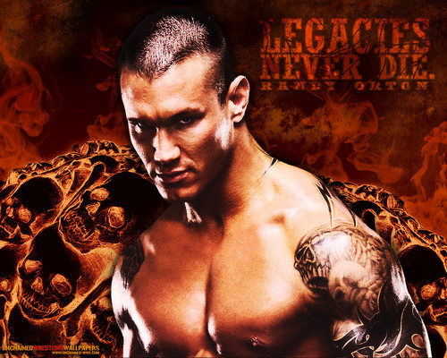Randy Orton Wallpaper Titled Legacy