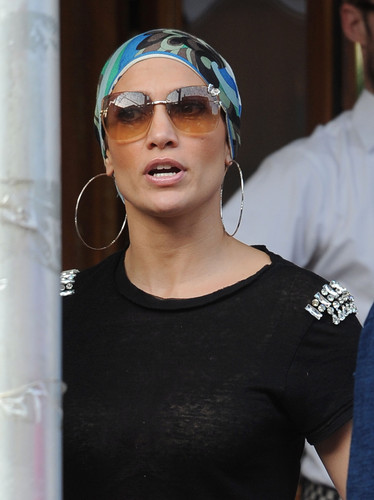 Out For Dinner At Pastis In New York City [22 July 2012] - jennifer-lopez Photo