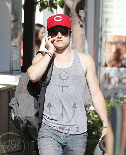Out and about in West Hollywood - July 29 - josh-hutcherson Photo