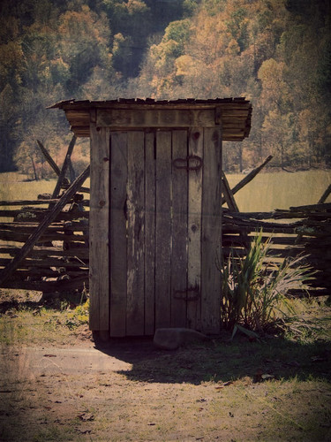 Photography wallpaper containing an outhouse and a granary called Out house