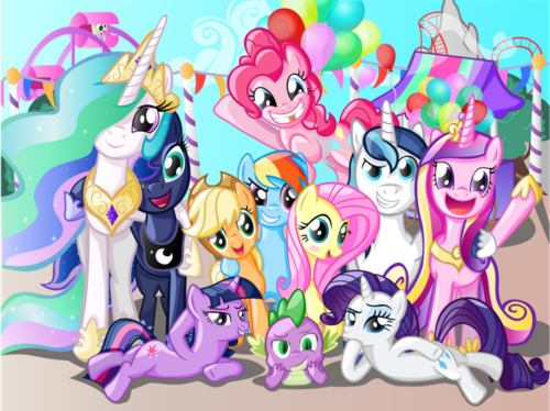 My Little Pony Friendship is Magic wallpaper containing anime called PONY!!