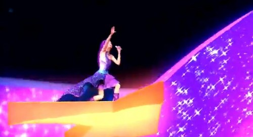 Barbie the Princess and the popstar wallpaper probably with a sign, a marquee, and a circus tent titled PaP Screencaps