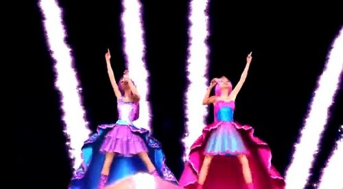 Barbie the Princess and the popstar wallpaper entitled PaP Screencaps