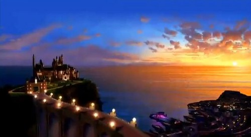 PaP's Sunset Scene