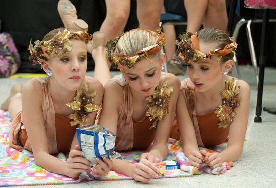 Paige, Chloe and Maddie- The Huntress