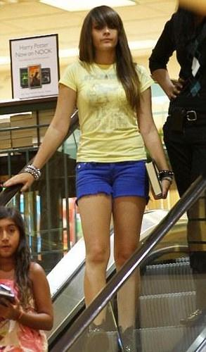Paris Jackson at the Commons Calabasas July 29th 2012 NEW