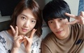 Park shin hye and Jung yong hwa at Younha's starry night