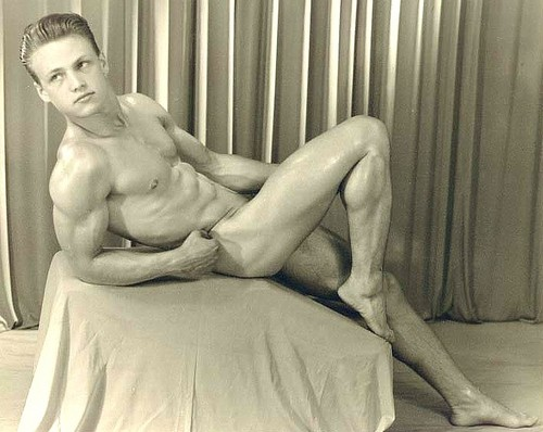 Pat Burnham - vintage-beefcake Photo
