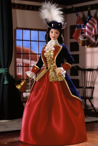 Barbie: Dolls Collection wallpaper called Patriot Barbie® Doll 1997