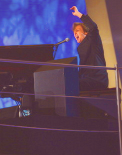 Paul McCartney wallpaper with a pianist and a grand piano called Paul McCartney Olympics 2012
