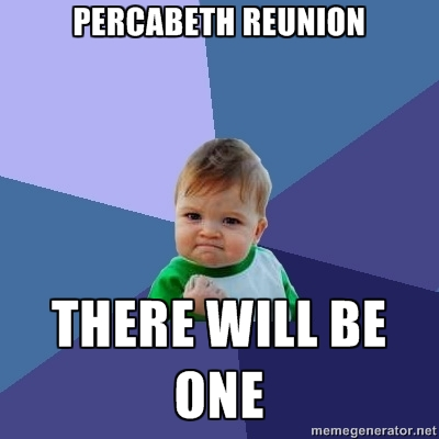 The Heroes of Olympus achtergrond possibly with a portrait called Percabeth Reunion in Mark of Athena...? (Meme)