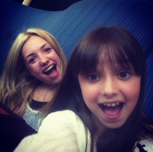 Peyton and Mackenzie