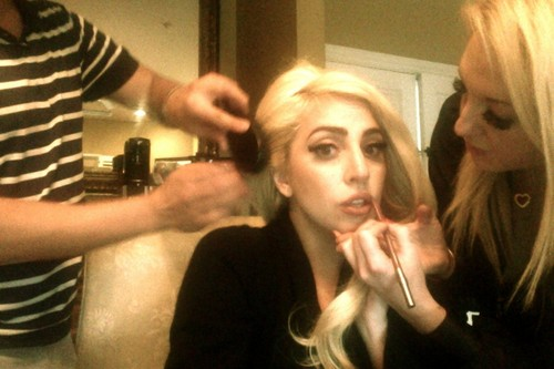 Photo from LittleMonsters.com - lady-gaga Photo
