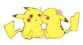 Pikachu Couple - pikachu photo