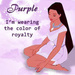 Pocahontas in Purple