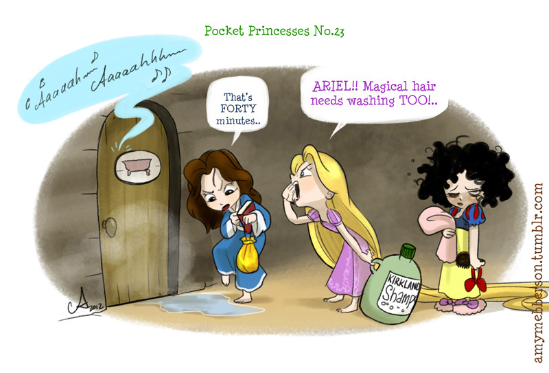 Disney Princess Pocket Princess 24
