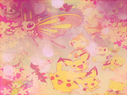 Pokemon - fondo de pantalla (made it myself)