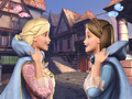 Princess and The Pauper - barbie-princess wallpaper