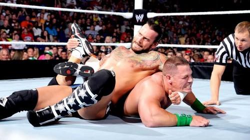 Punk vs Cena (Championship match)