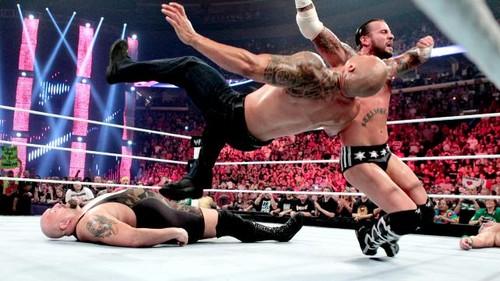 Punk vs Cena (Chmapionship match)