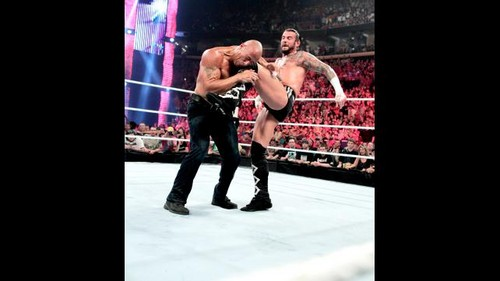Punk vs Cena (Chmapionship match) - cm-punk Photo