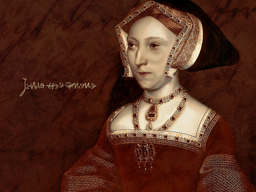 Tudor History wallpaper titled Queen Jane Seymour