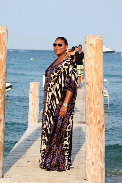 Queen Latifa Strikes a Pose [July 24, 2012]