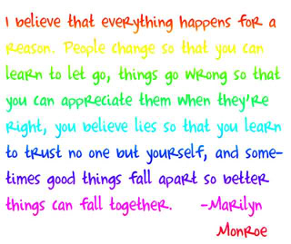 Quote by Marilyn Monroe