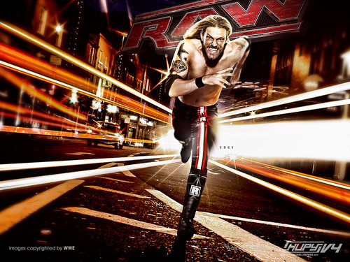 WWE wallpaper entitled Raw is Edge
