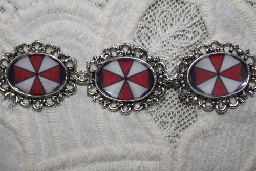 Resident Evil Umbrella Corp. bracelet