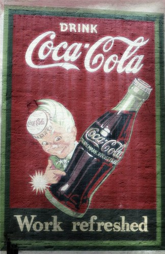 Retro coca cola Cola