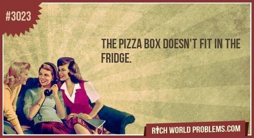 Rich world problems