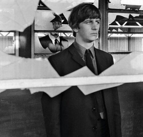 Ringo (behind him is Paul)