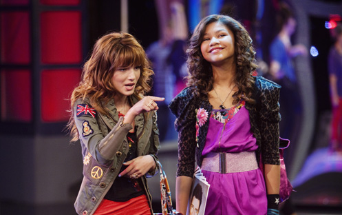 Rocky in shake it up...