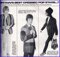 Ronnie Lane, George Harrison and Brian Jones