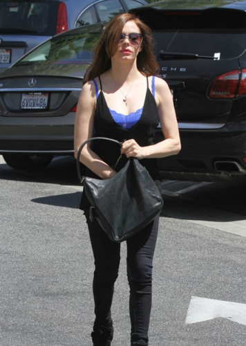 Rose - Out and about in Studio City - Jul 10, 2012