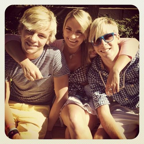 Ross, Rydel and Riker